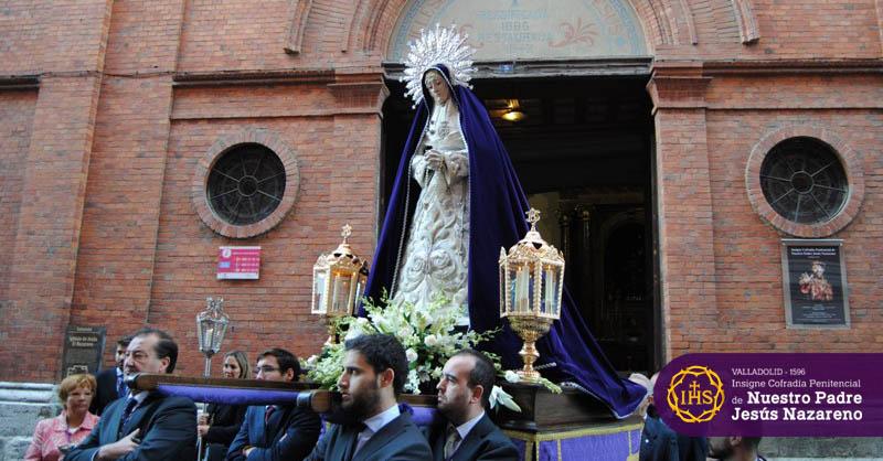 Sagrados Titulares Virgen de la Soledad